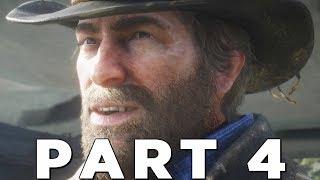 Red Dead Redemption 2 - Gameplay Walkthrough Part 4 - Second Heist & John Marston