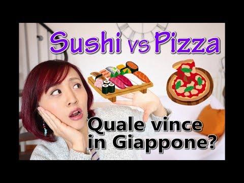Scontro finale: SUSHI vs PIZZA!! In Giappone