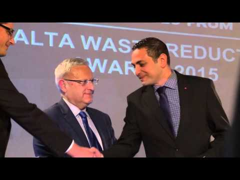 Malta Waste Reduction Awards 2015