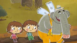 Малыши и Летающие Звери - Просто так - Добрые развивающие мультфильмы для детей