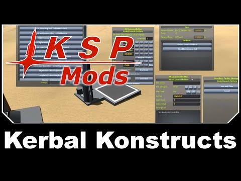 KSP Mods - Kerbal Konstructs