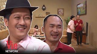 Trường Giang cướp công sức Tiến Luật đãi Hari Won bữa ăn hoành tráng