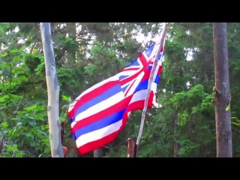 Hawaiian Flag in Canada