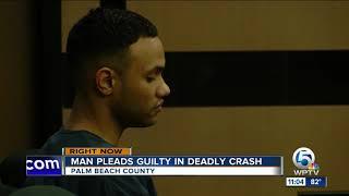 Acreage man pleads guilty in DUI crash that killed PBSO deputy's son
