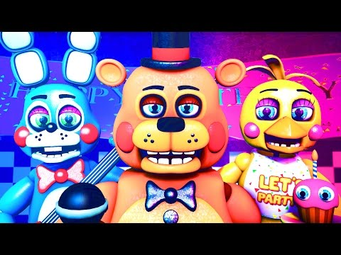 Five Nights at Freddy's Song (FNAF SFM 4K Remake)(TIFWhitney Remix)(Nightcore/Nightstep Extended)