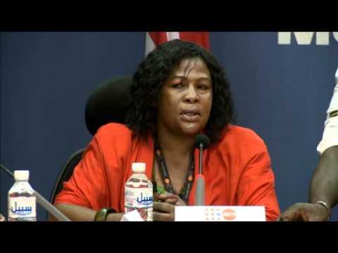 International Women's Day 2012, UNMIL Press Briefing