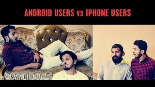 Android Users vs Iphone Users By Karachi Vynz Official