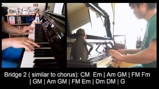"""念念不忘"" - 麥浚龍 Juno Mak (Piano Cover by Amosdoll Music)"