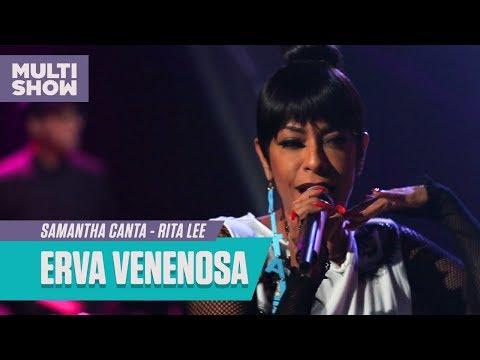 Samantha canta Erva Venenosa Rita Lee  Samantha Canta  Música Multishow