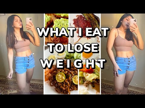 WHAT I EAT IN A DAY TO LOSE WEIGHT FAST DURING QUARANTINE | Philippines
