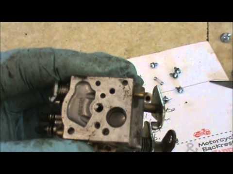 How to clean a carburetor Part 1