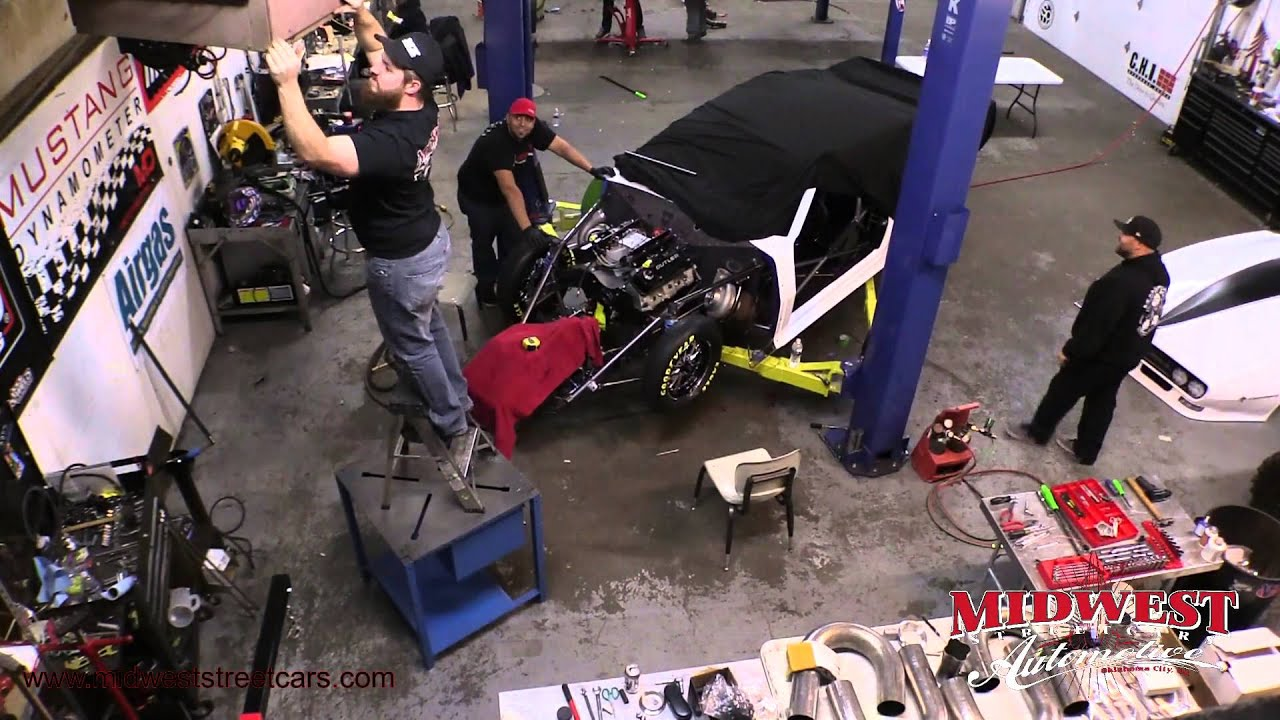 Time Lapse Of Big Chief S Crowmod Turbo Build With Lutz Race Cars