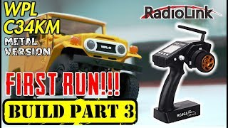 UNBOXING RADIOLINK RC4GS TRANSMITTER BUILD WPL C34KM PART 3