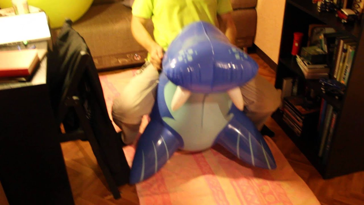 Sit Pop Balloon: Sit Pop Inflatable Seal With BF)