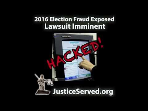 2016 Election Fraud & Voter Suppression (Nationwide) Lawsuit