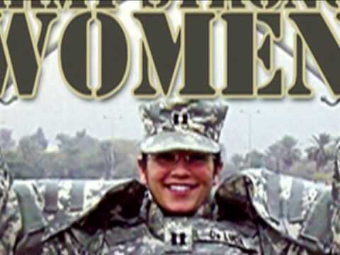 army strong woman