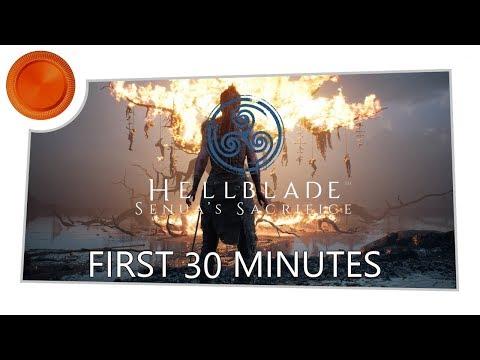 First 30 Minutes - Hellblade Senua's Sacrifice - Xbox One