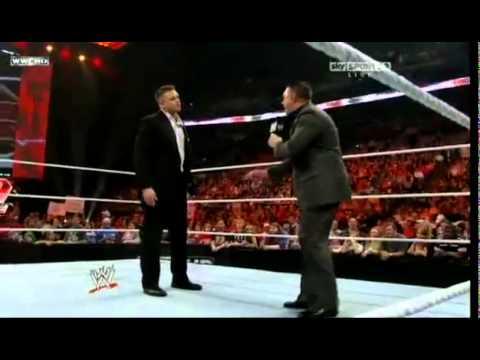 Alex Riley-Michael Cole Segment Then A-R Attacks The Miz On Raw !