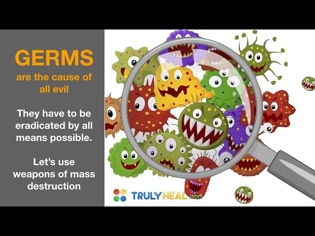 Let's Kill Germs with Weapons of Mass Destruction? - A safe and healthy alternative