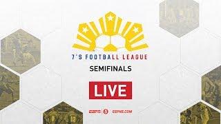 LIVE: 7's Football League Semifinals