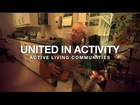 United Active Living residents maintain an active lifestyle