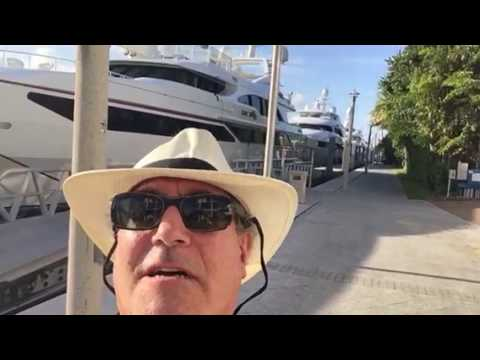 Broker open house at Bahia Mar Marina, Ft Lauderdale, FL