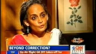 CNN IBN Arundhati Roy 25 10 2009