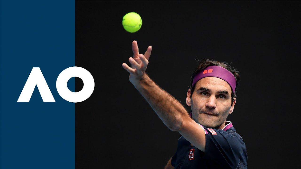 Roger Federer vs Steve Johnson - Extended Highlights (R1)   Australian Open 2020