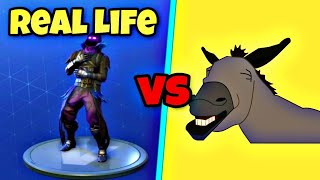 Laugh It Up Dance Voll Ablachen Tanz im Vida Real! 🐴 de la casa de la inser Fortnite Battle Royale