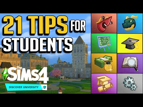 21 Things You Should Know: Tips for The Sims 4 Discover University