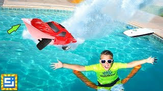 RC Car Driving on Water Adventure!! THIS IS IMPOSSIBLE!!