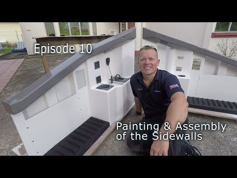 Episode 10 Painting & Assembly of the 737 Sidewalls