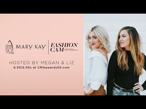 Mary Kay Fashion Cam: Hosted by Megan & Liz | CMA 50th Awards | CMA