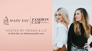 mary kay fashion cam hosted by megan liz   cma 50th awards   cma