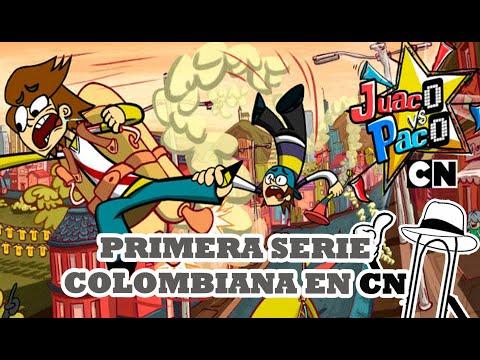 JUACO VS PACO LA NUEVA SERIE COLOMBIANA DE CARTOON NETWORK