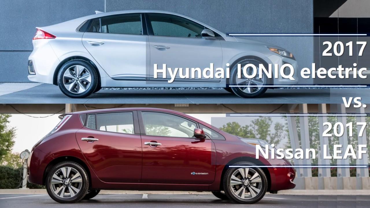 2017 Nissan Leaf Comparison You