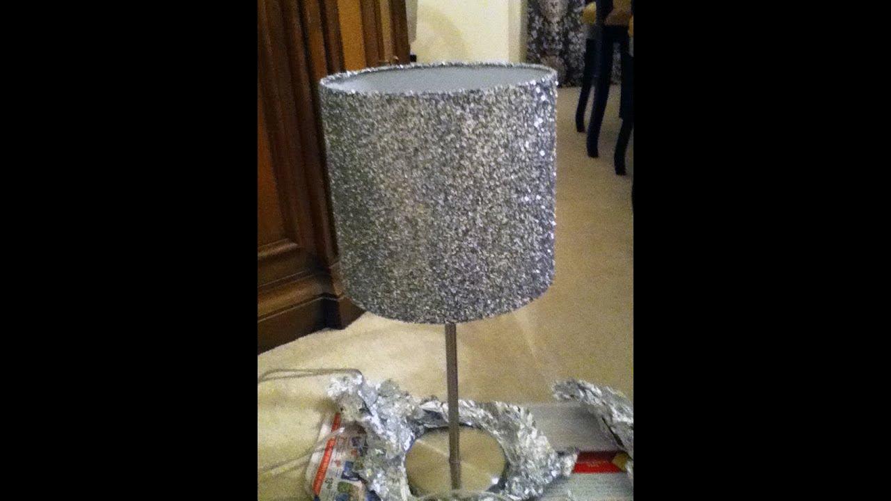 Diy funky lamp shades youtube diy funky lamp shades aloadofball Images