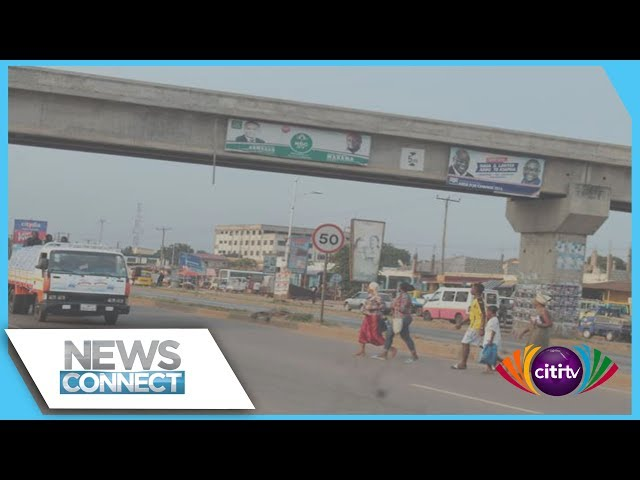 Work on footbridges begins on Madina-Adentan