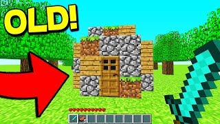 PLAYING THE FIRST MINECRAFT MAP... With UnspeakableGaming