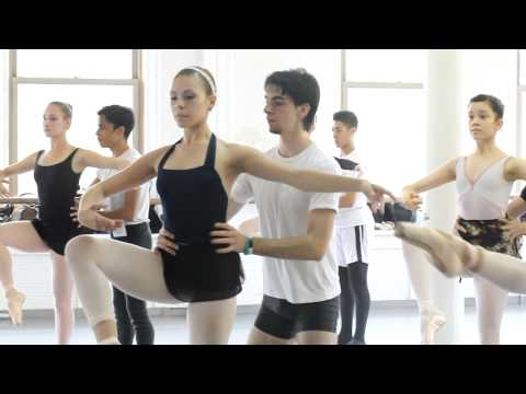 """Joffrey Ballet School NYC """"A Day In The Life of A Student"""" - Giovanna Montoya"""