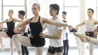 "Joffrey Ballet School NYC ""A Day In The Life of A Student"" - Giovanna Montoya"