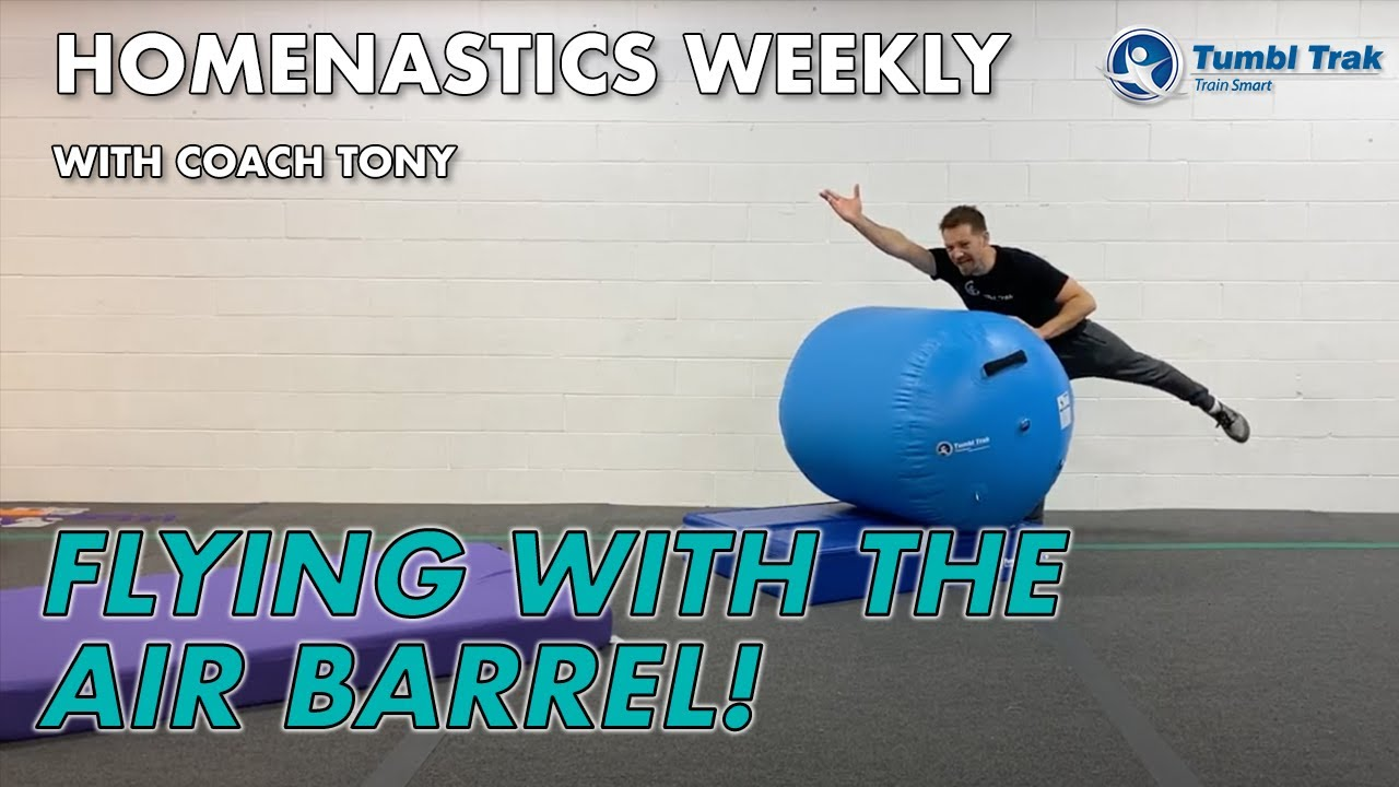 Homenastics™ WEEKLY Flying with the Air Barrel