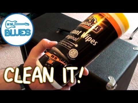 Cleaning Guitar Amplifiers and Music Gear