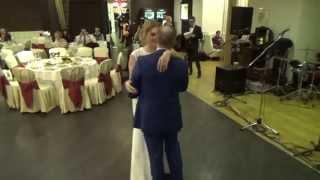 Первый свадебный танец: видео с двух камер