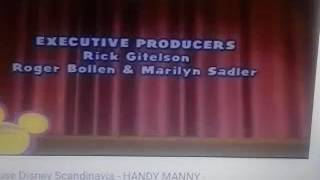 Playhouse Disney Scandivina - Fi Policiticos - ENDING CREDITS - Outro