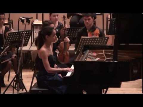 Mozart Piano Concerto C dur KV 415 mvt. II&III - Marina Simeonova