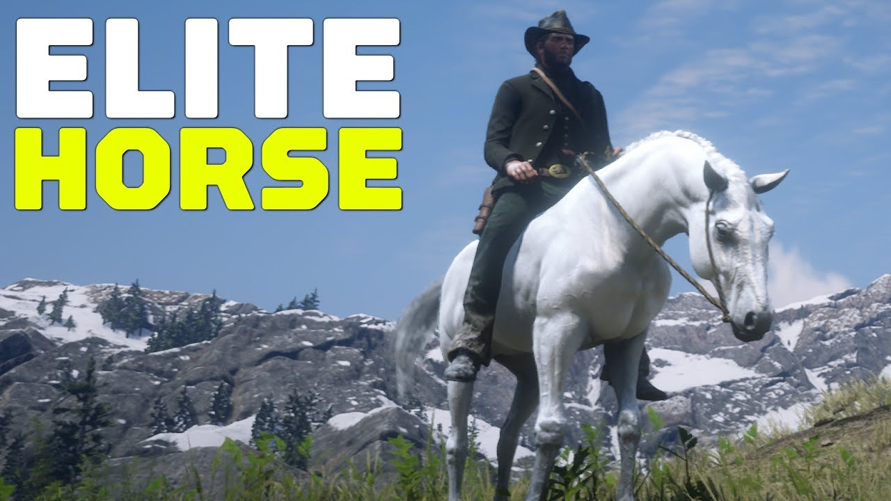 Red Dead Redemption 2 How To Find And Tame An Elite Arabian Horse
