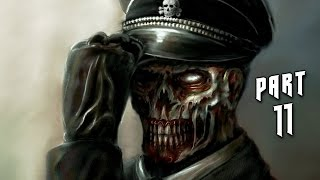 Wolfenstein The Old Blood Walkthrough Gameplay Part 11 - Zombies (PS4)