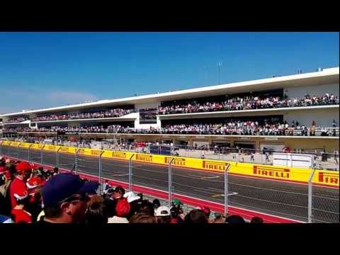 USGP Of F1, Austin, 2012 - Starting Of The Race