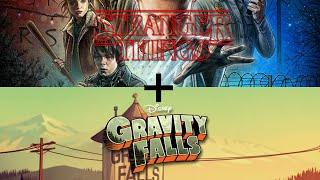 Gravity Falls Intro - Stranger Things Edition